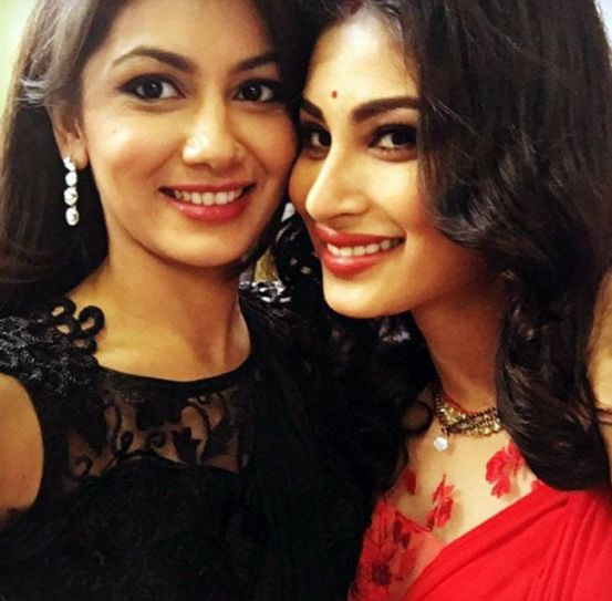 "Not many people know that Sriti Jha and Mouni Roy are great friends. In fact Sriti calls Mouni ""The Jane Austen girl in a Christopher Nolan world"". Some heavy influence of literature and movies, we must say."