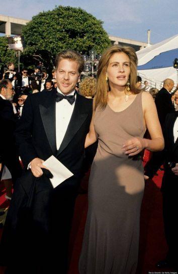 Kiefer Sutherland and Julia Roberts