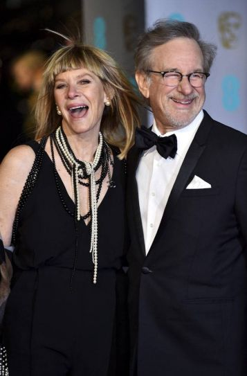 Kate Capshaw and Steven Spielberg at BAFTA awards