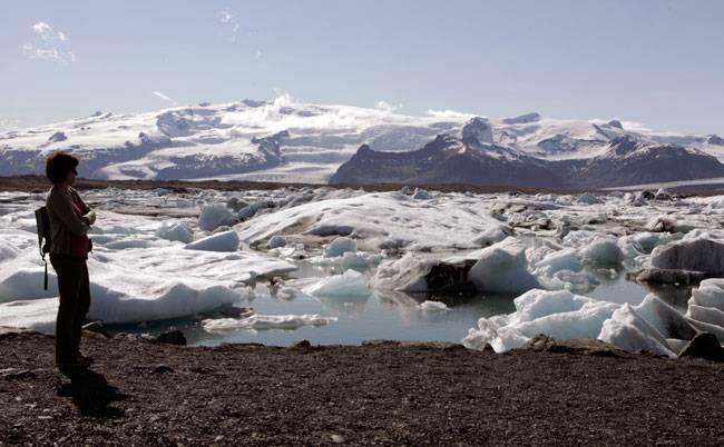 Vatnajokull, Iceland