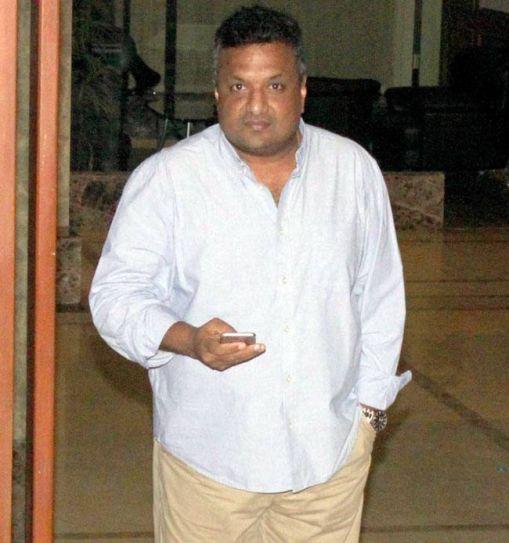 Sanjay Gupta at Sanjay Dutt's residence in Mumbai