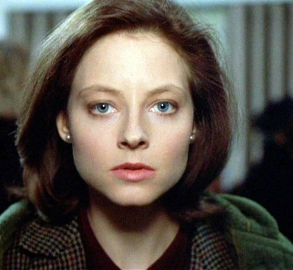 Jodie Foster in a still from The Silence Of The Lambs
