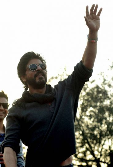 SRK at Hansraj College: When King Khan returned to his alma