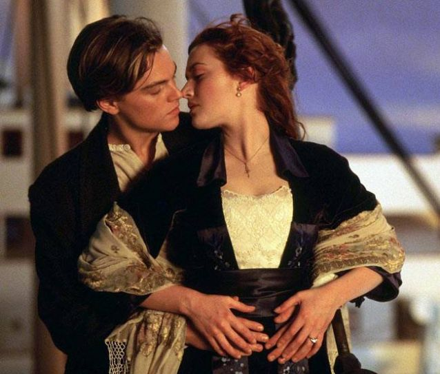 Leonardo Dicaprio and Kate Winslet in a still from Titanic