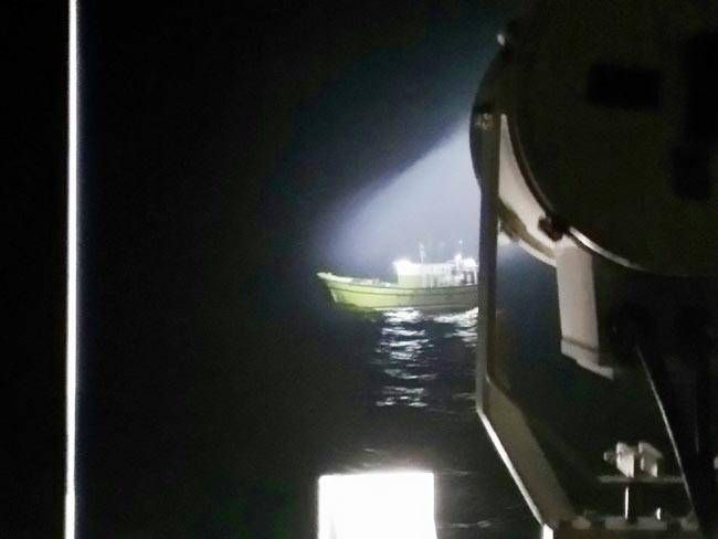 Ship rescued by Coast Guard