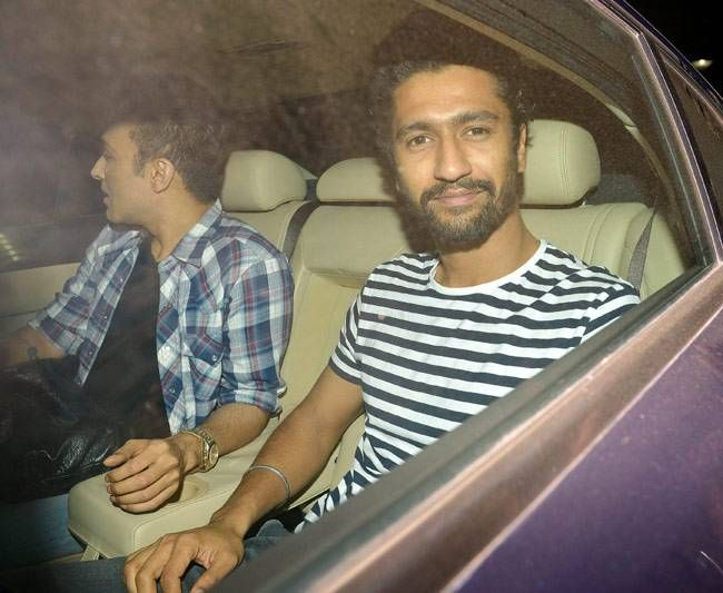 Vicky Kaushal at the screening of Fitoor