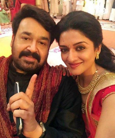 Mohanlal and Vimala Raman in Oppam