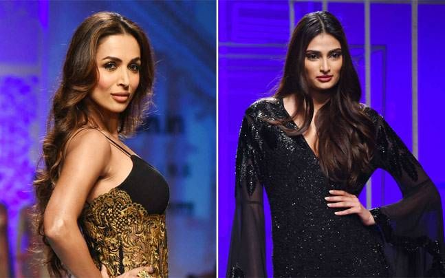 Day 4 of the ongoing Amazon India Fashion Week Autumn/Winter 2016 at Jawaharlal Nehru Stadium, saw Bollywood beauties Malaika Arora Khan and Athiya Shetty turning into ramp goddesses.