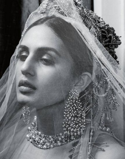 Huma Qureshi, Harper's Bazaar Bride