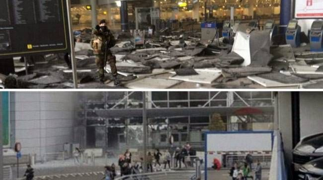 Explosion in Brussels