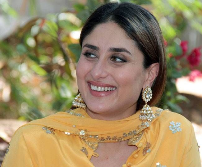 Kareena Kapoor looked gorgeous in a yellow salwar suit.