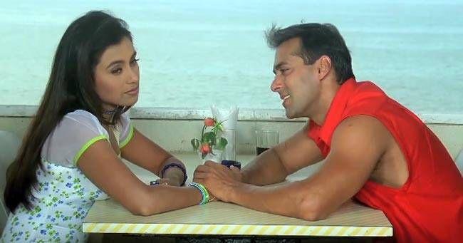 Rani Mukerji and Salman Khan in a still from Kahin Pyaar Na Ho Jaaye