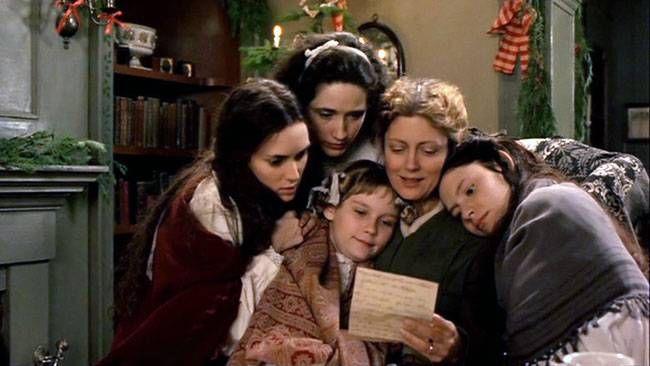 A still from the film Little Women