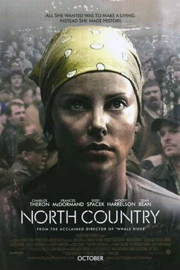 A poster of the film North Country