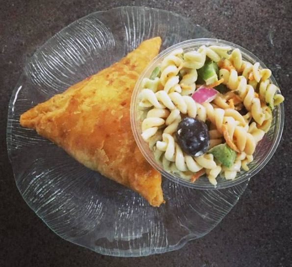Pair your samosa with a salad