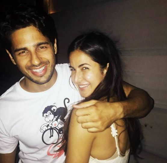 Sidharth Malhotra and Katrina Kaif on the sets of Baar Baar Dekho
