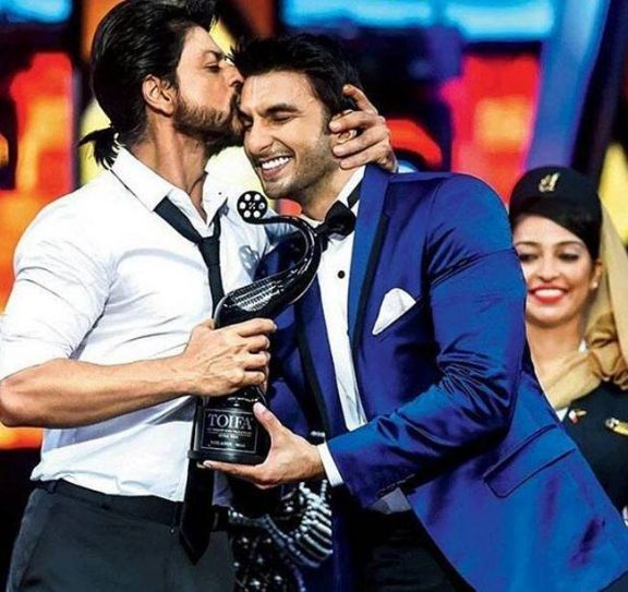 Shah Rukh Khan and Ranveer Singh