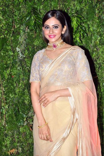 Rakul Preet Singh at Srija's wedding reception