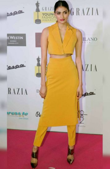 Grazia Young Fashion Awards 2016 red carpet