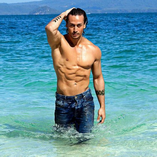 Tiger Shroff in a still from Baaghi