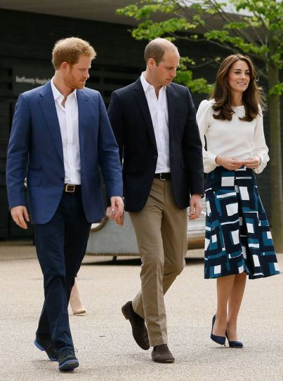 Britain Royals at Olympic Park, London