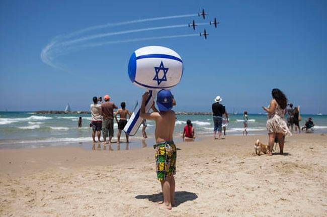 Independence Day in Tel Aviv