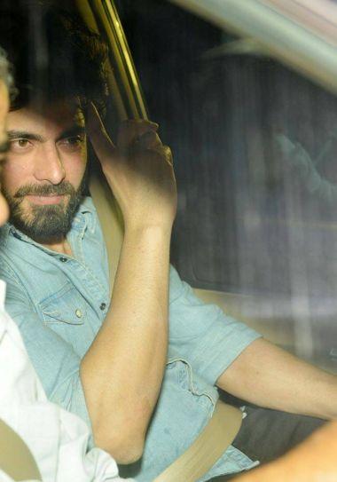 Fawad Khan at Aarti Shetty's bash