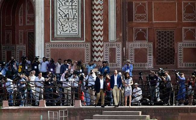 Prince William, Kate Middleton, Agra Visit