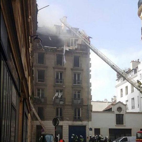 Paris explosion, France