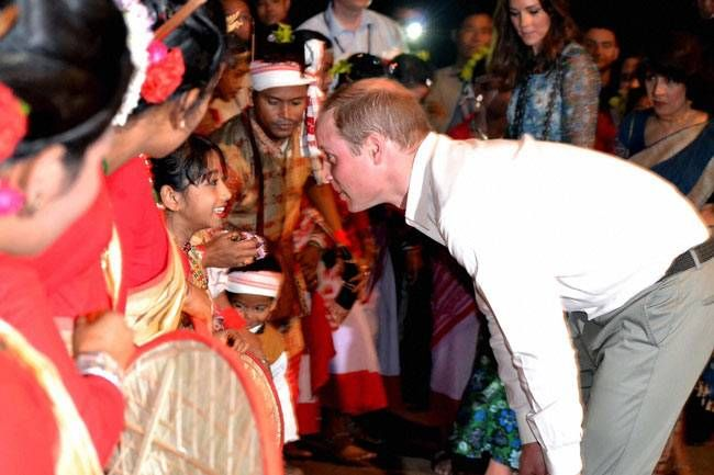 Prince William and Kate Middleton visit Kaziranga National Park in Assam.