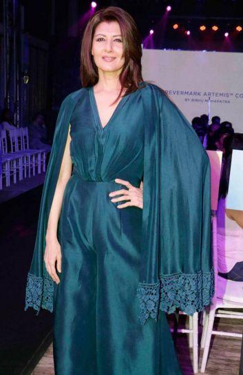 Ace designer Bibhu Mohapatra's fashion show.