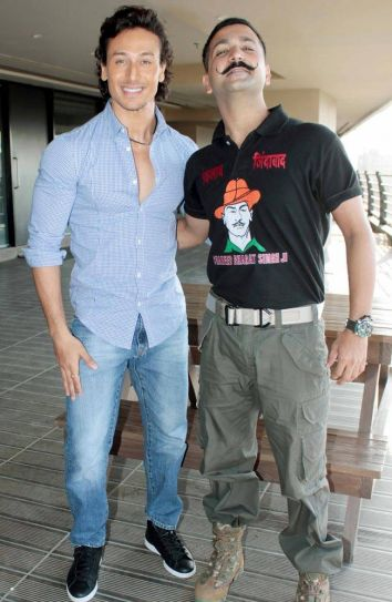 Tiger Shroff and Master Shifu