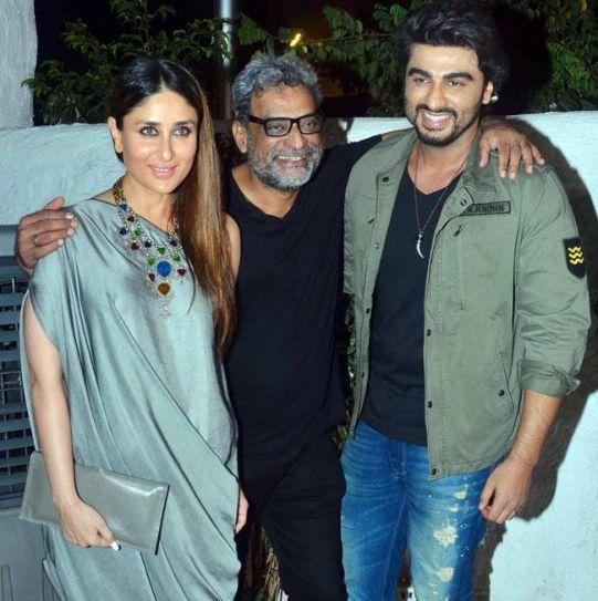 Kareena Kapoor Khan, R Balki and Arjun Kapoor at Ki and Ka success bash