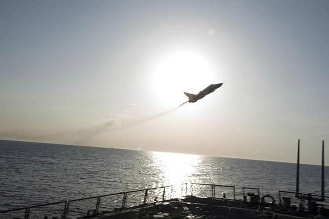 Russian jets simulate attack over US warship