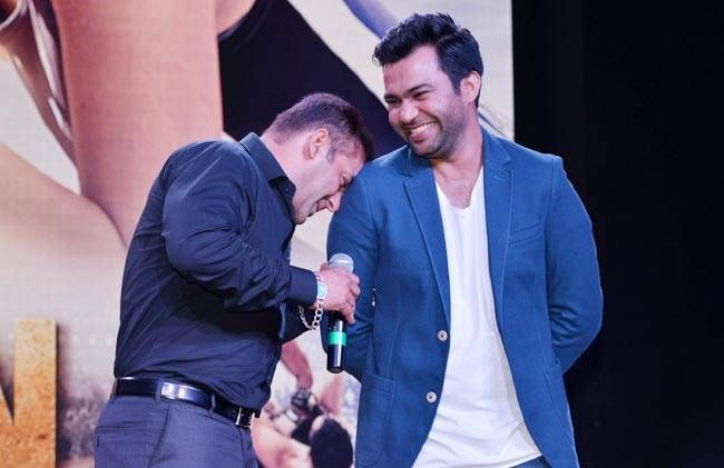 Salman Khan and Ali Abbas Zafar at Sultan trailer launch