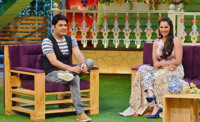 Sania Mirza had also appeared on Comedy Nights With Kapil last year.