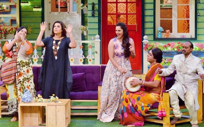 Sunil Grover and Kiku Sharda also tried their best to make the ladies laugh.