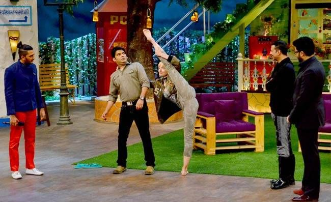 A fun moment from The Kapil Sharma Show.
