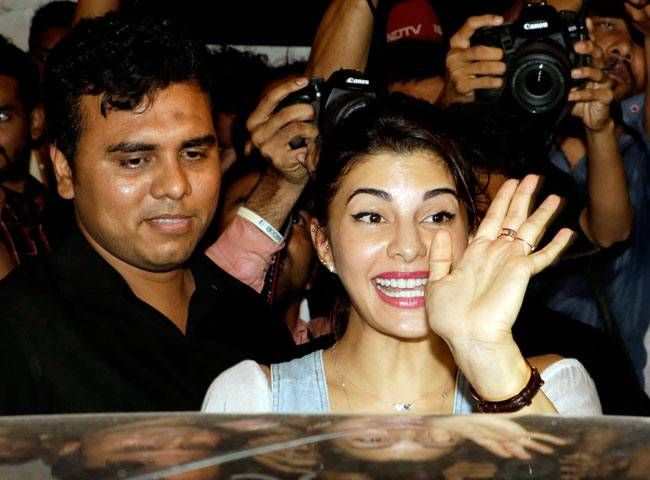 Jacqueline Fernandez at Baaghi success bash