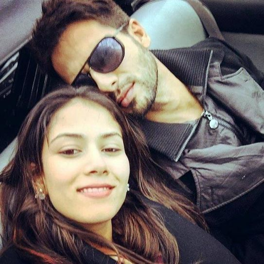Shahid Kapoor and Mira Rajput in Maldives