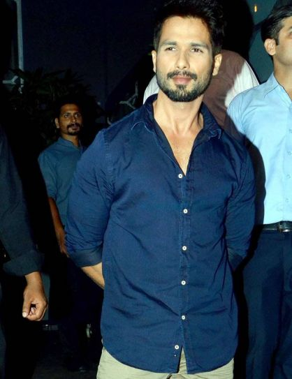 Shahid Kapoor at Baaghi success bash