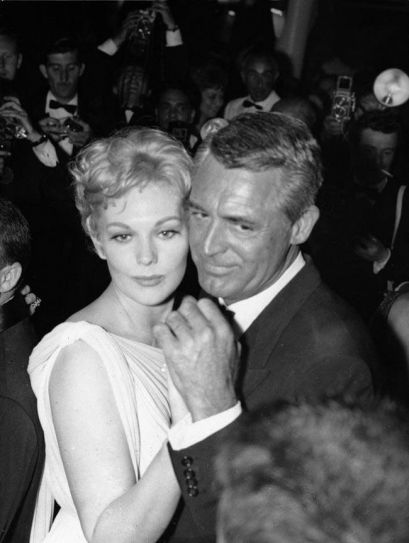 Kim Novak with Cary Grant