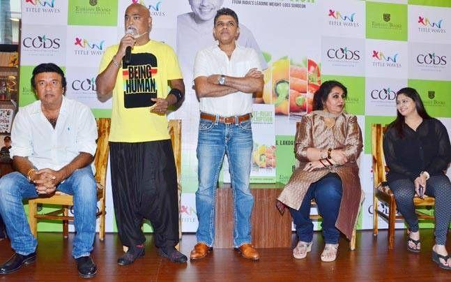 Dr Muffazal Lakdawala's book launch, the eat right prescription