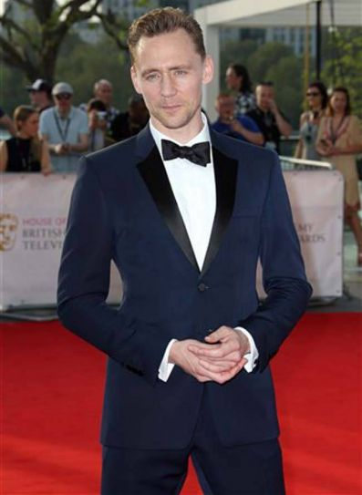 The British Academy Television Awards red carpet.