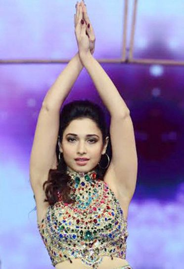 Tamannaah Bhatia at the CineMaa Awards 2016.