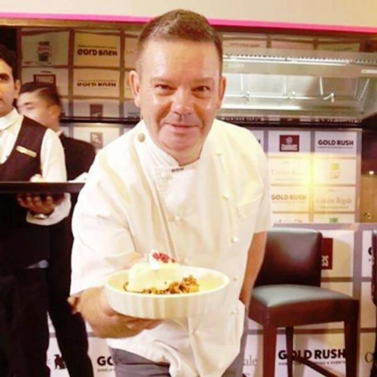 Gary Mehigan, after his MasterClass, as charming as ever.
