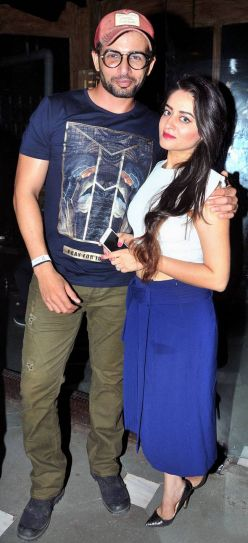 Telly couple Jay Bhanushali with Mahhi Vij were also present at the bash.