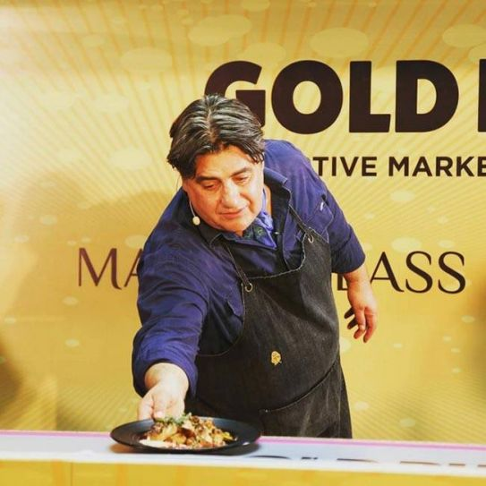 Matt Preston gives a MasterClass during the World On A Plate food fest.