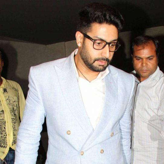 Abhishek Bachchan at Housefull 3 screening