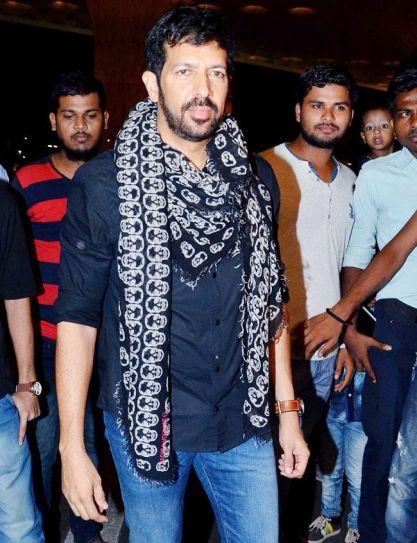 Kabir Khan at the Mumbai international airport